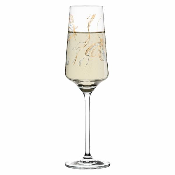 Prosecco Proseccoglas von Marvin Benzoni (Monarch Couple)
