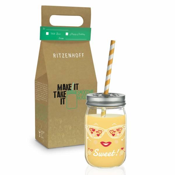 Make It Take It smoothie glass by Nils Kunath