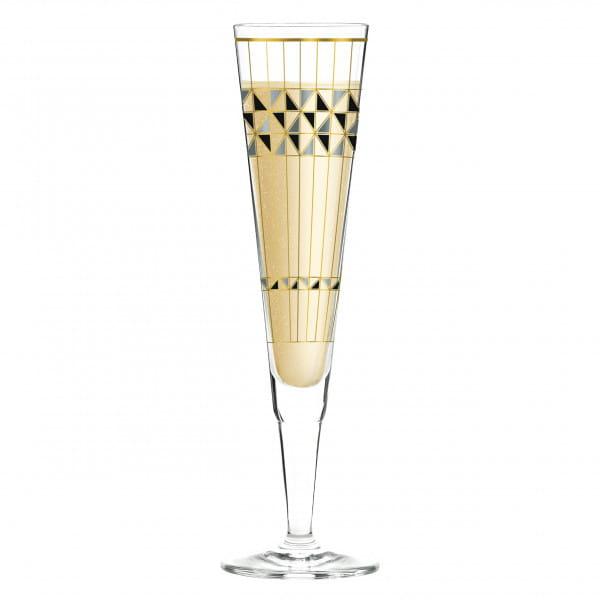 Champus Champagnerglas von Burkhard Neie (Artdeko)