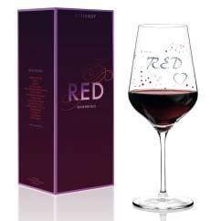 Red Rotweinglas von Sabine Röhse