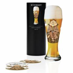 Weizen Wheat beer glass by Kathrin Stockebrand