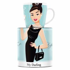 My Darling coffee mug by Astrid Müller
