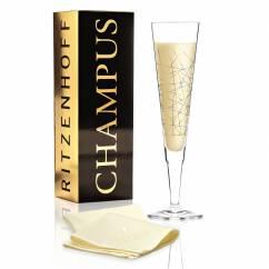 Champus Champagnerglas von Burkhard Neie (Mikado)