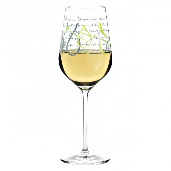 White white wine glass from Virginia Romo