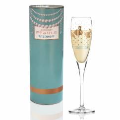 Pearls Edition Prosecco Glass by Liana Cavallaro