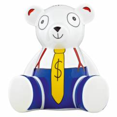 Teddy Bank Piggy Bank Bear by Petit-Roulet