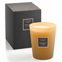Selection scented candle 3-wick, osmanthus & amber