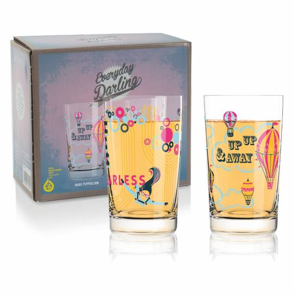 Everyday Darling Softdrinkglas 4er-Set von Marie Peppercorn & Alena St. James
