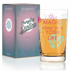 Everyday Darling Softdrinkglas von Virginia Romo