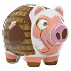 Mini Piggy Bank Sparschwein 3er Set von Nick Diggory