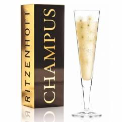 Champus Champagnerglas von Lenka Kühnertová