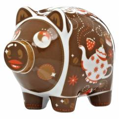 Mini Piggy Bank Set of 3 by Nils Kunath