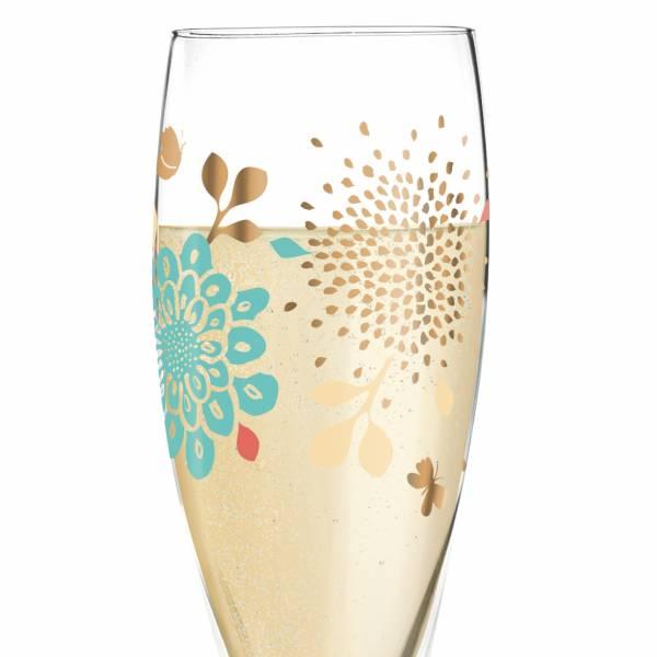 Pearls Edition Prosecco Glass by Lenka Kühnertová