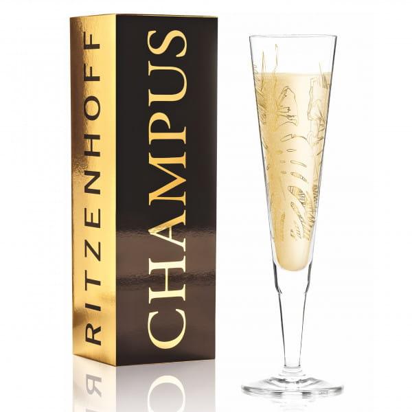 Champus Champagnerglas von Shibuleru