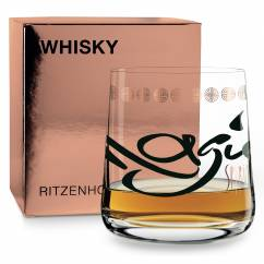 WHISKY Whisky Glass by Annett Wurm
