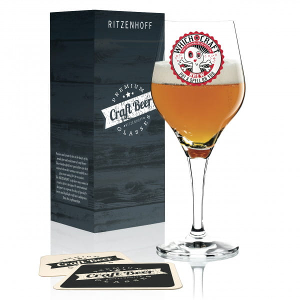 Craft Beer Bierglas von Christine Radel