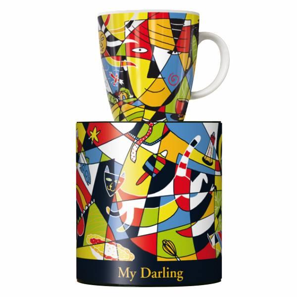 My Darling coffee mug by Oliver Weiss