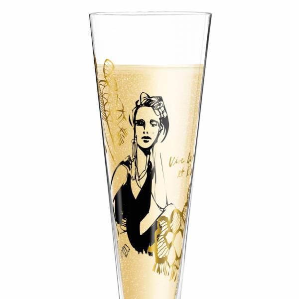 Champus Champagne Glass by Peter Pichler (La Parisienne)