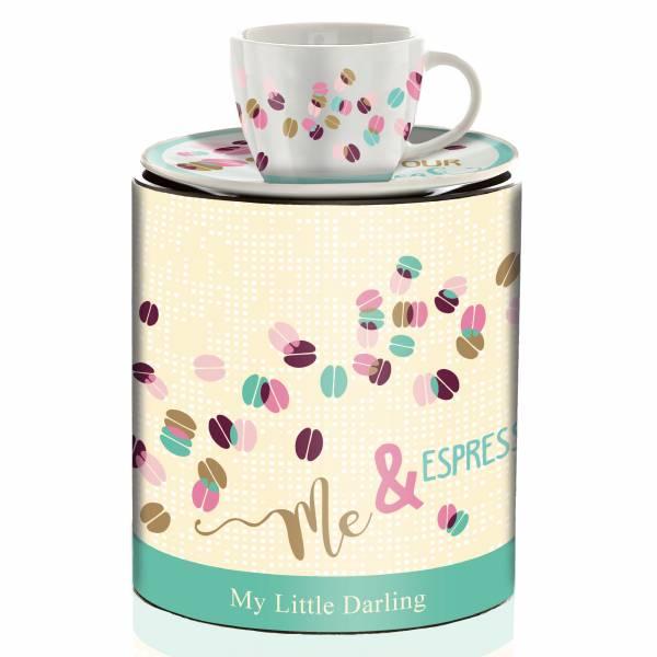 My Little Darling Espressotasse von Claudia Schultes (Break)
