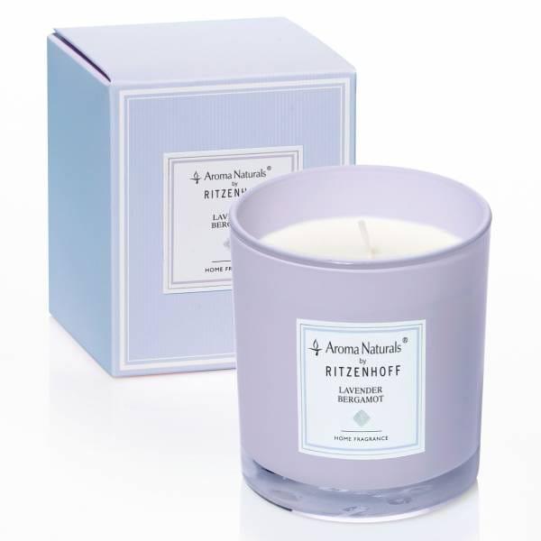 Modern Duftkerze, Lavender Bergamot (H: 8 cm, ø 7 cm)