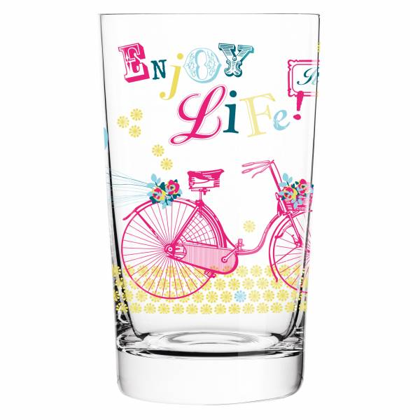 Everyday Darling soft drink glass by Kathrin Stockebrand