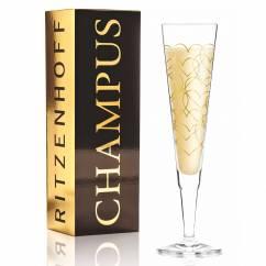 Champus Champagnerglas von Rurik Mahlberg