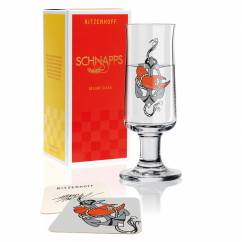 Schnapps Shot Glass by Tobias Tietchen (Lost Anchor)