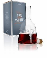 Red & White Wine Carafe from Virginia Romo